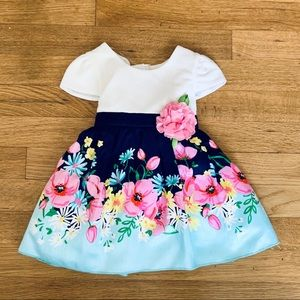 🌸 NEW 18 Months Little Girls Flower Dress
